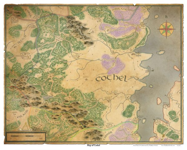 Map of Cothel
