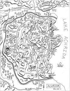 Map Achrida