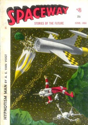 Spaceway June, 1954 Front Cover