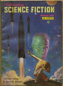 Astounding (March, 1951) Cover