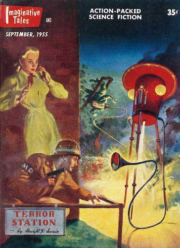 Imaginative Tales (9/55) Cover